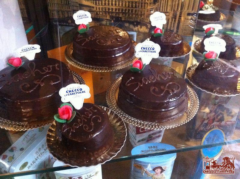 Torta Sacher Roma Pasticceria