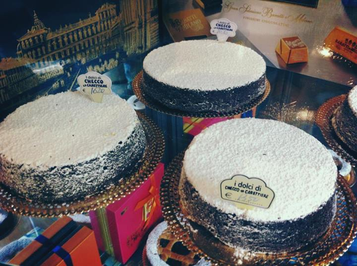 Torta Caprese artigianale